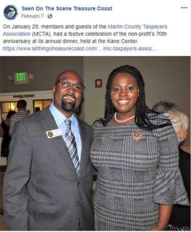 Martin County Taxpayers Association Annual Dinner